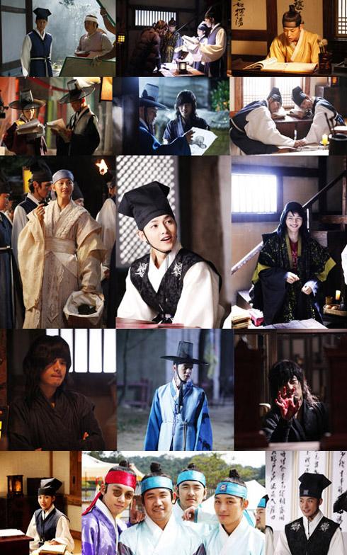 K-DRAMA BEHIND THE SCENES] SungKyunKwan Scandal on set photos ...