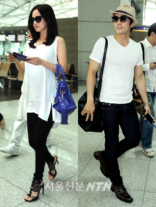 [Official] HONEY COUPLE: Song Seung Hun & Kim Tae Hee ... Kim Tae Hee And Song Seung Heon Is Couple In Real Life